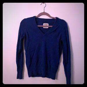 Abercrombie blue sweater